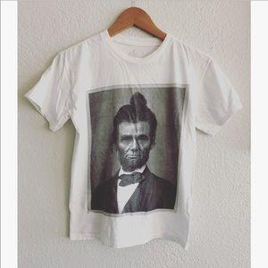 Kid Dangerous Abraham Lincoln t-shirt sz: Med